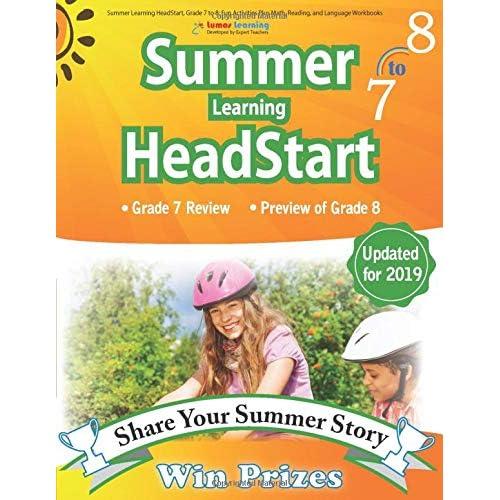 Buy Summer Learning HeadStart, Grade 7 to 8: Fun Activities