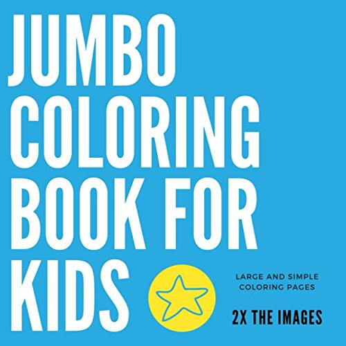 Buy Jumbo Coloring Book For Kids Large And Simple Coloring