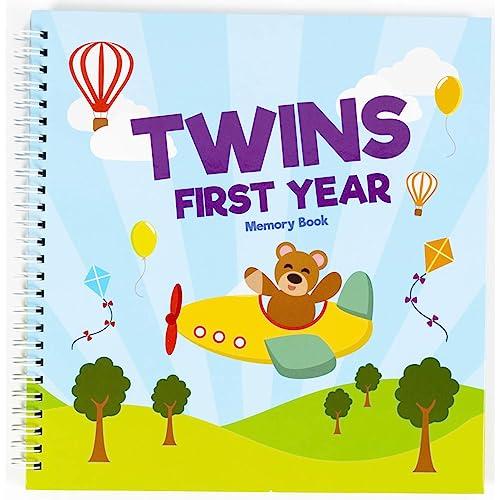 Twins First Tahun Pertama Cover Memori Buku Tahan Edisi Baru Lahir 1 Tahun Jurnal Dan Gambar Kejayaan Album Foto Perfect Dan Unik Hadiah Idea Untuk Pancuran Mandian Bayi Dan Hari Lahir Buy Products