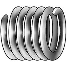 10pk Metric Fine M7 x 1 x 2.5D Length Helicoil Insert Wire Thread Insert 304SS