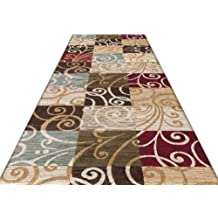 Color : A, Size : 1.24m Full Shop Can Be Customized Runner Carpet Living Room Coffee Table Room Rectangular Mat Porch Corridor Aisle Mat
